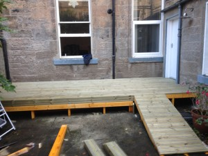 New Anti Slip Decking Boards